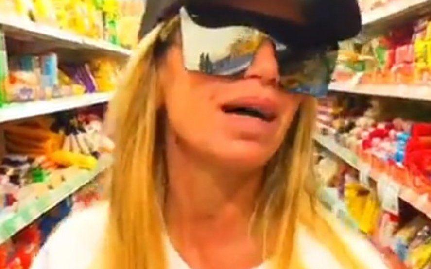 """""""Metanse los huevos en…"""": el video de Florencia Peña en un supermercado, indignada por los precios"""