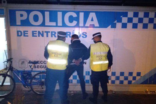 El acusado tiene 52 años e intentó escapar en bicicleta a Entre Ríos el 26 de agosto último