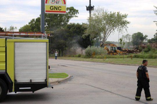 tras la rotura de un cano maestro de gas, aseguran que los vecinos ya pueden volver a sus casas