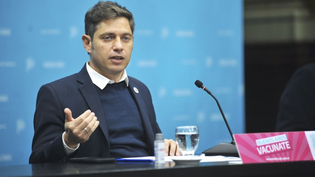 Axel Kicillof encabeza la ceremonia en La Plata