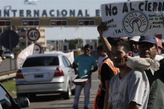 Trabajadores de Cresta Roja esperan una solución a un conflicto que lleva cinco años