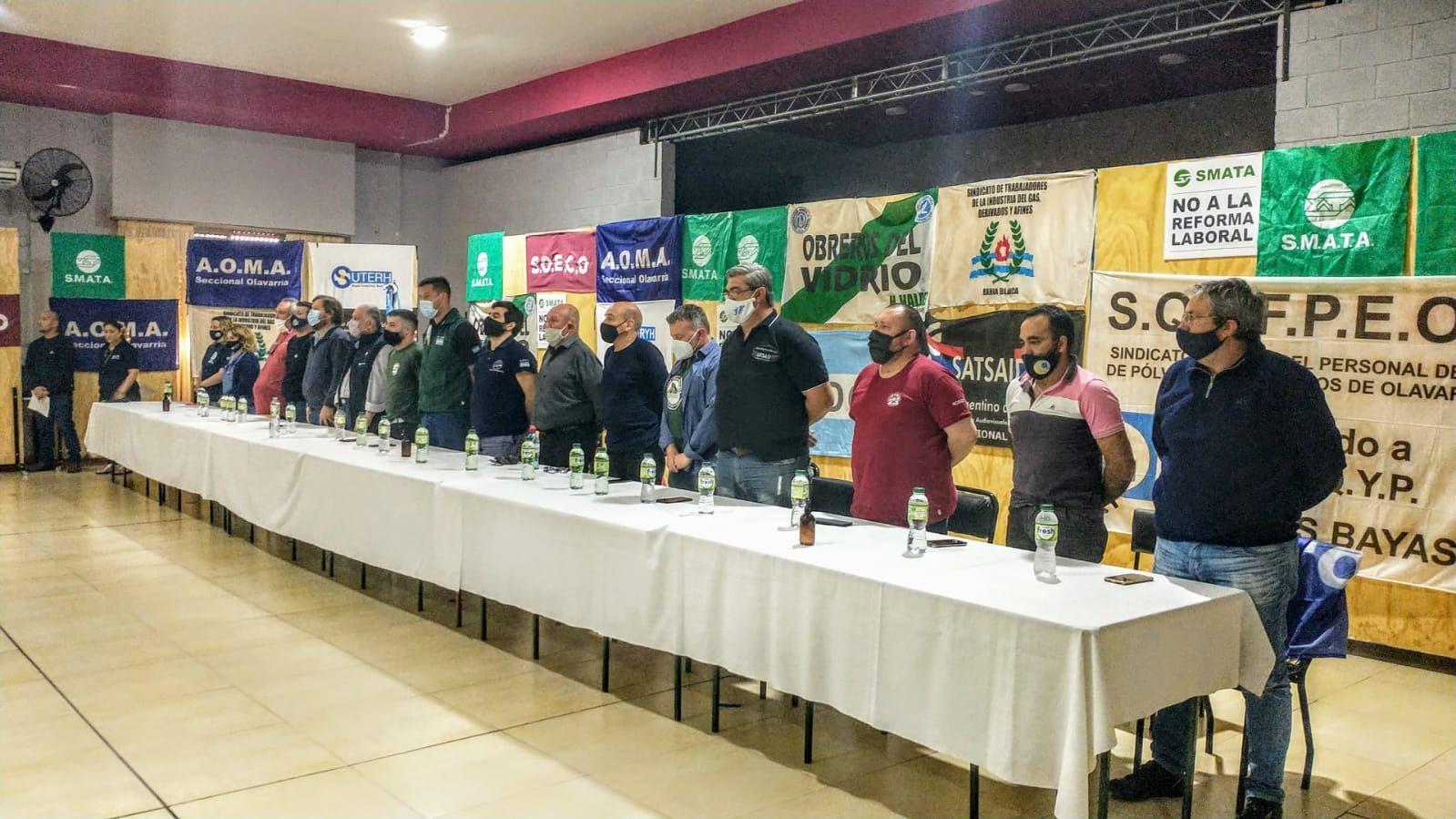 Sindicatos de Olavarría repudiaron el proyecto para eliminar indemnizaciones por despido