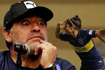 """Las jugadoras de Boca se niegan a homenajear a Maradona """"por su forma despectiva de relacionarse con las mujeres """""""
