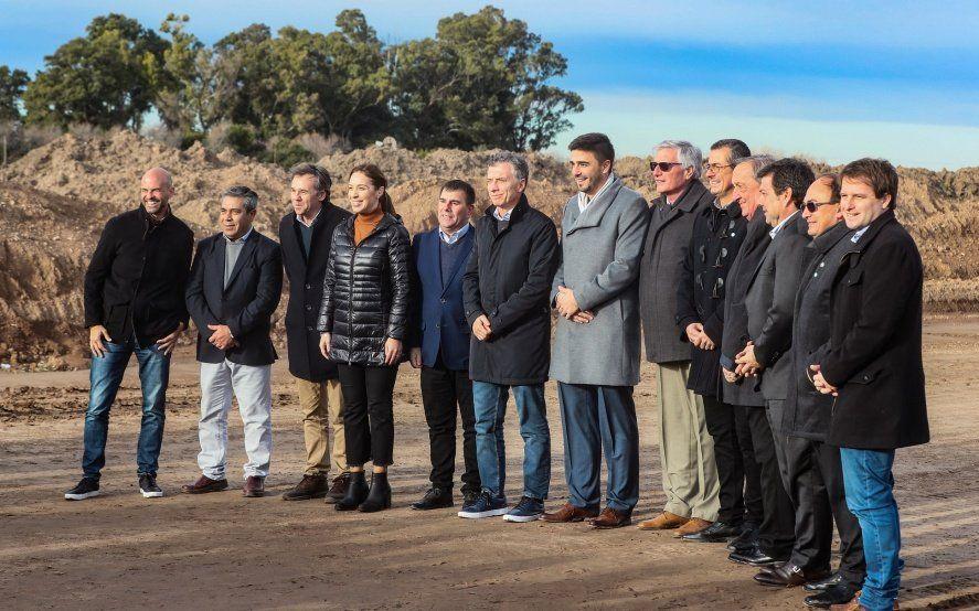 Macri y Vidal volvieron a apoyarse en la obra pública y destacaron el acuerdo con la UE