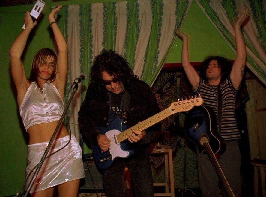 Fabiana Cantilo confesó que fue amante de Calamaro
