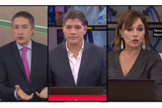lorena maciel protagonizo una fuerte discusion en tn a raiz del estreno del documental de nisman