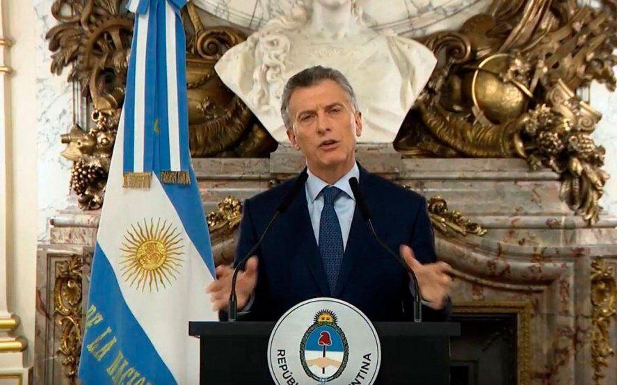 Macri dará su discurso en medio de una fuerte protesta de movimientos sociales contra la pobreza
