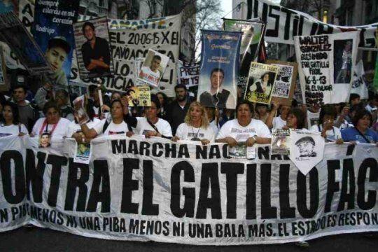 cuarta marcha nacional contra el gatillo facil: movilizan en todo el pais contra la violencia policial