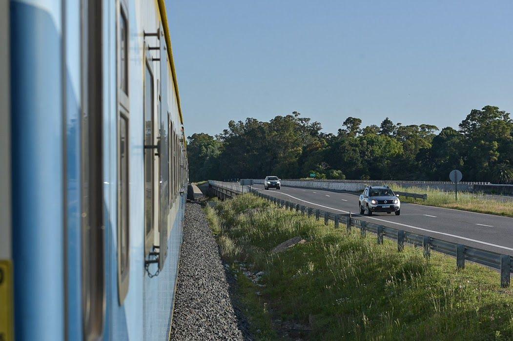 trenes argentinos: comenzaran las tareas de renovacion del tramo de las vias entre mercedes y lujan