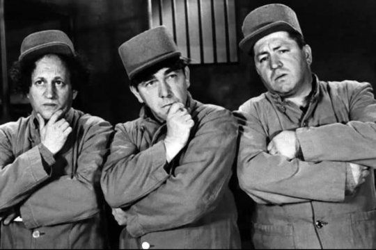 Los fanáticos de Los Tres Chiflados se sienten estafados por Canal 13 al repetir siempre lis mismos capítulos de la serie