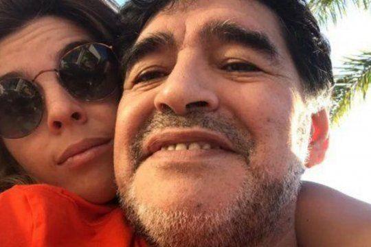 Dalma Maradona escribió una carta en su cuenta de Instagram para despedir a su papá