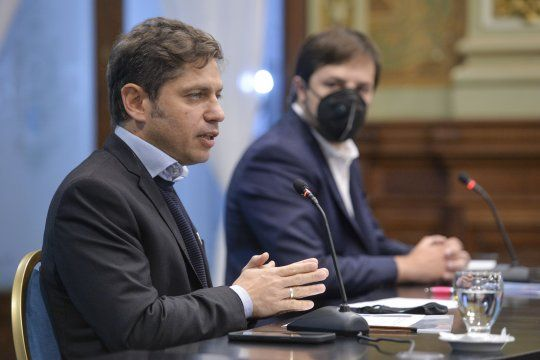 axel kicillof pide banca a los intendentes: la idea es reclinarnos sobre los gobiernos locales