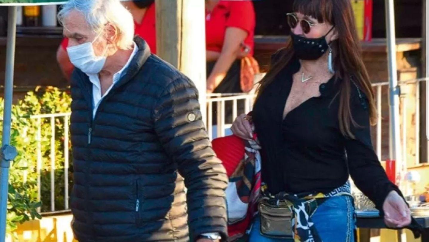 Moria Casán y Fernando Galmarini, el suegro de Sergio Massa, viven un apasionado y sorprendente romance