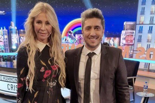 Cris Morena participó anoche del programa de Jey Mammon