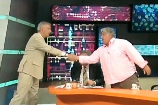 Mauro Viale y Alberto Samid habían protagonizado una pelea épica en la TV argentina.