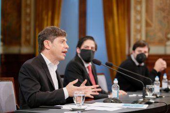 Kicillof dijo que empezará a trabajar en protocolos para que vuelvan las clases presenciales.