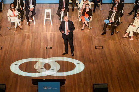 Alberto Fernández lanzó el Consejo Económico y Social
