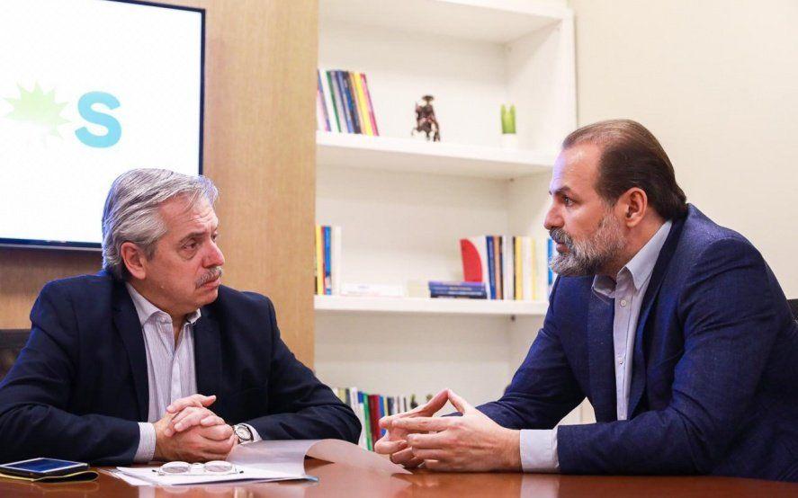 Alberto Fernández visita Bahía Blanca y le da impulso a Federico Susbielles