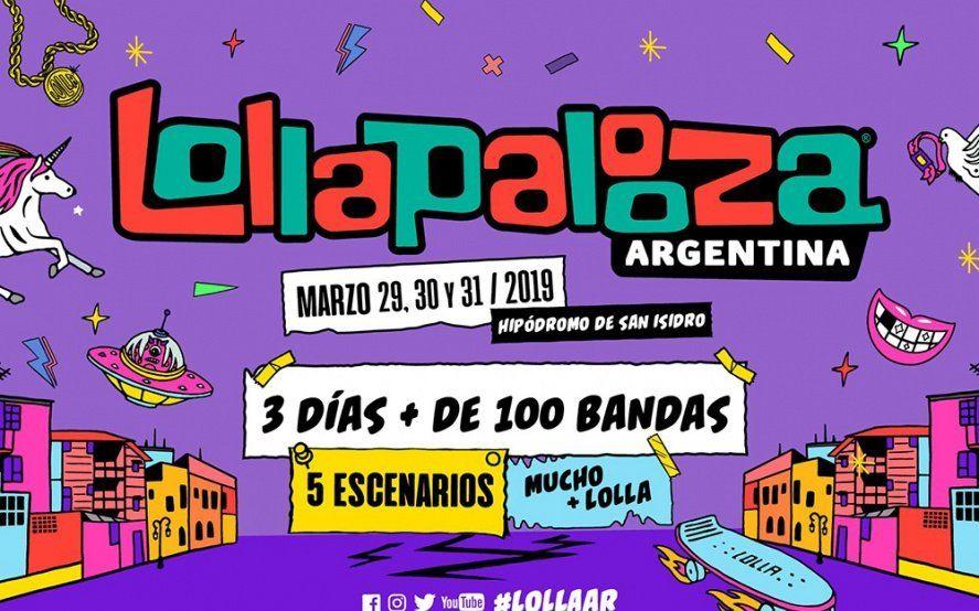Confirmaron los horarios y artistas para el Lollapalooza y las redes explotaron