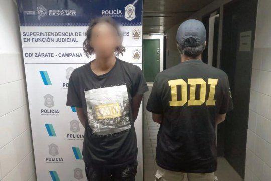 El joven de 19 años acusado por el crimen ocurrido en Campana