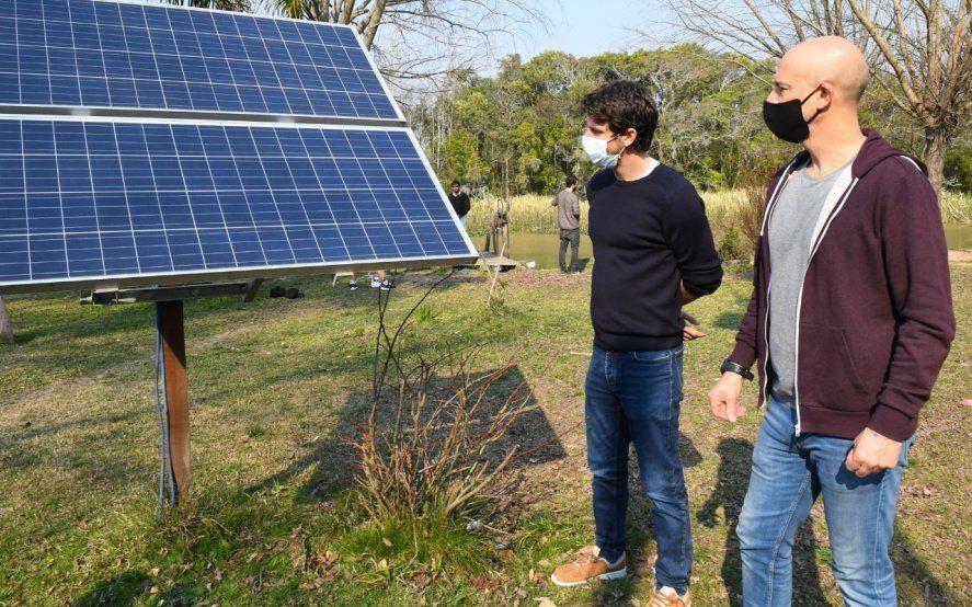 San Fernando: el Municipio instaló paneles solares en las islas del Delta