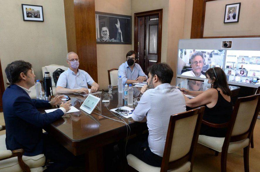 Kicillof tiene a disposición la renuncia del gabinete