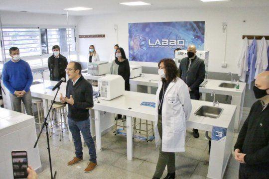 inauguran en bolivar un importante laboratorio de biologia molecular para agilizar el analisis de covid-19