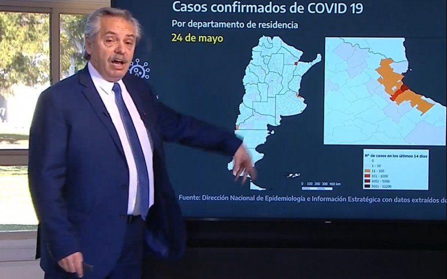 COVID 19: Los datos estadísticos y las zonas rojas del mapa argentino