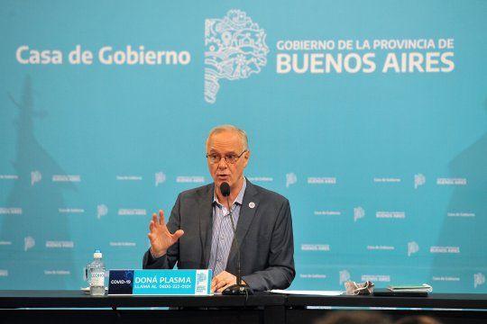 El ministro de Salud, Daniel Gollán, respondió las acusaciones de sectores opositores.