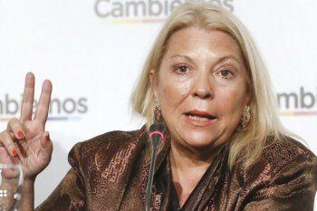 ELisa Carrió disparó contra Facundo Manes y calentó la elección dentro de Juntos