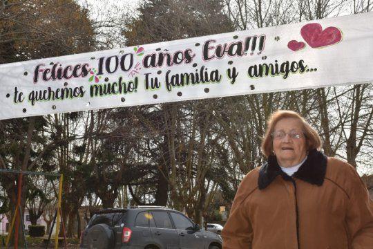 Eva Retondo cumplió 100 años en plena pandemia (Fotos: Facebook Pablo Retondo)