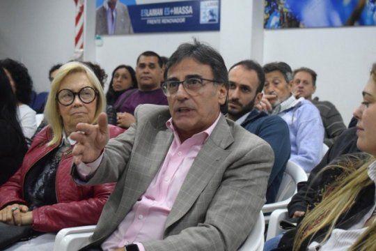 Rubén Eslaiman, diputado del Frente Renovador, estuvo en Lado P.
