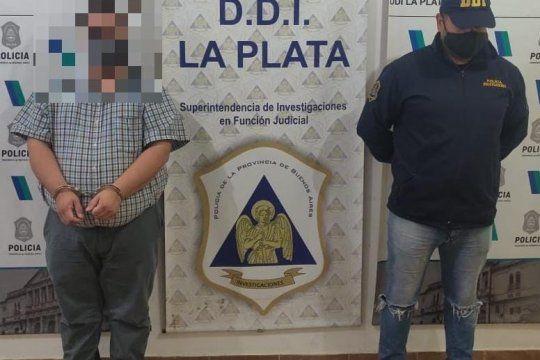 El abogado de 36 años fue detenido en el microcentro platense
