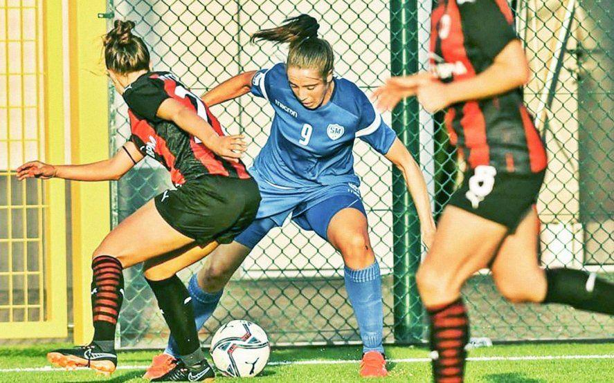 Yésica Menin è nel calcio femminile in Italia da quasi dieci anni.