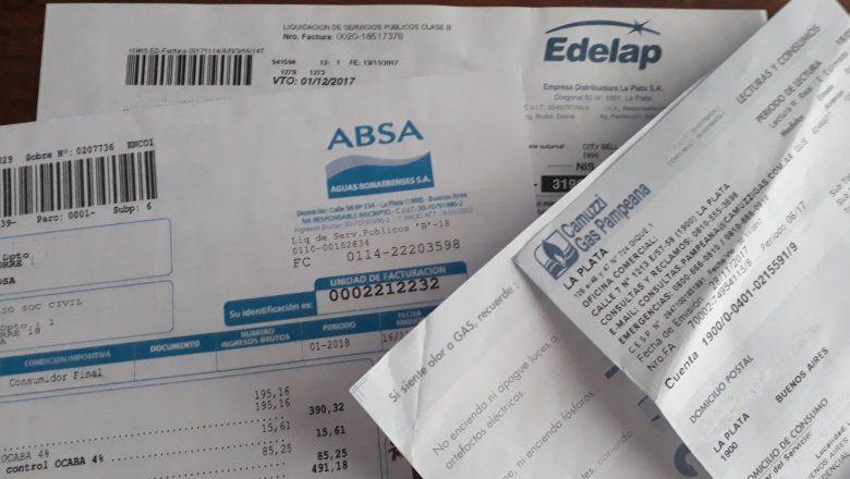 Gremios advierten con llamar a no pagar los servicios públicos si siguen los tarifazos