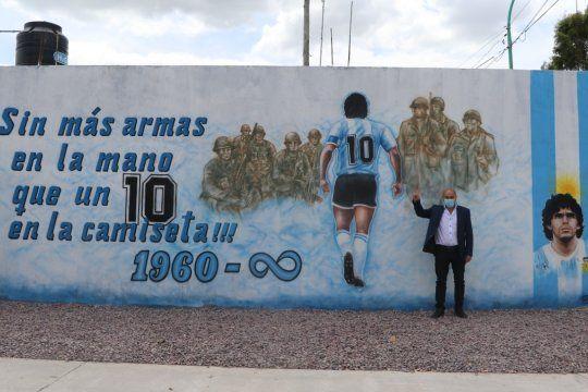 Ensenada: Primer edificio público llamado Diego Armando Maradona