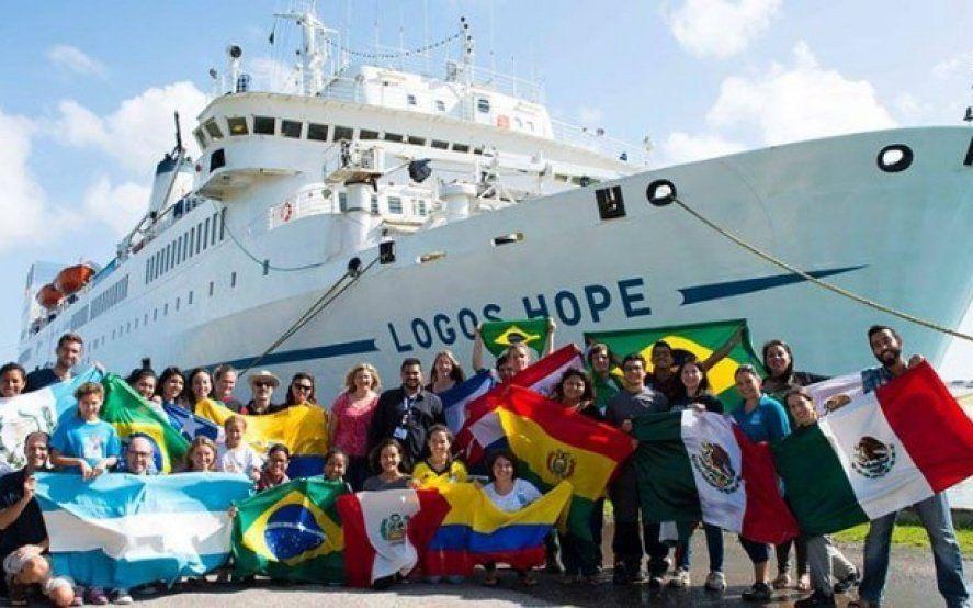 Libros en el agua: El puerto de Mar del Plata recibirá a la biblioteca flotante más grande del mundo