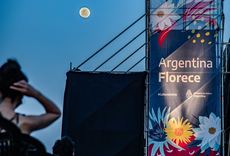 """""""Argentina Florece"""" es un programa impulsado por el Ministerio de Cultura de la Nación."""