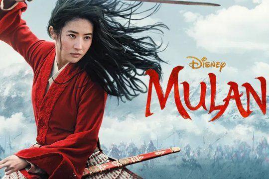 Disney estrenó Mulán y se podrá ver por streaming