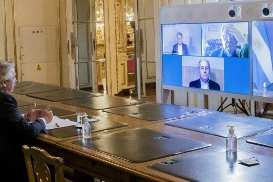 El Presidente participó de manera virtual del encuentro Recomenzar la Argentina y la Patria Grande; Diálogo social para la igualdad, organizado por la Pastoral Social.