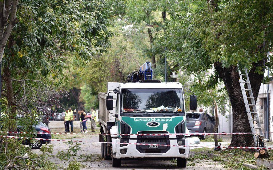 Temporal en La Plata: la ciudad sufrió el tipo de tormenta más destructivo de los cuatro existentes