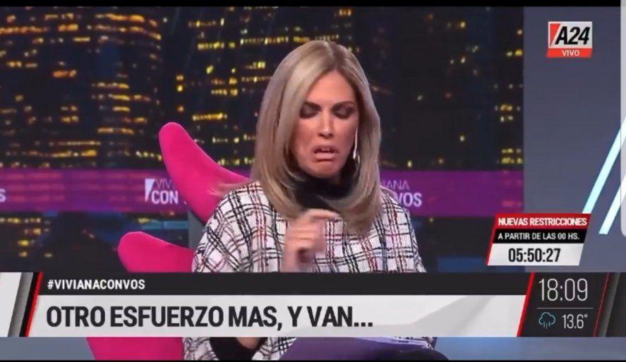 Viviana Canosa se refirió burlonamente a mandatarios extranjeros en TV