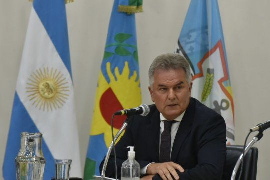 Héctor Gay, intendente de Bahía Blanca