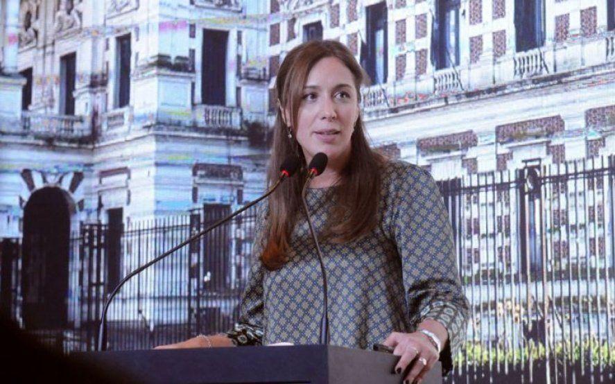 Ante empresarios, Vidal volvió a descartar su candidatura presidencial y ratificó a Macri