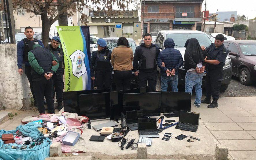 Venían desde Capital Federal a La Plata para desvalijar casas: hay cuatro detenidos