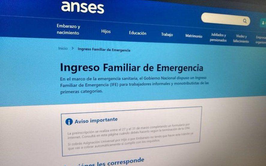 IFE 3: quiénes cobran el bono de Anses el lunes 31 de agosto