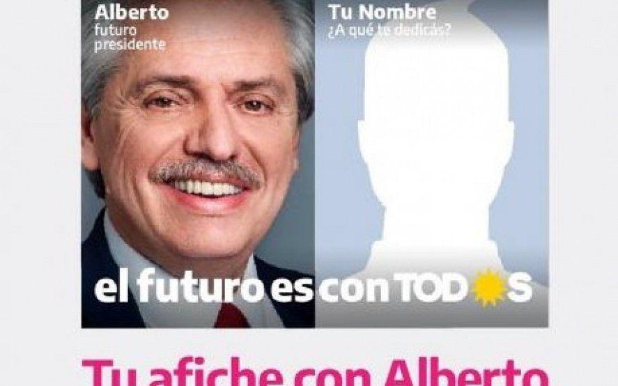 Una foto con Alberto: La particular App que te permite ser parte de la boleta del Frente de Todos