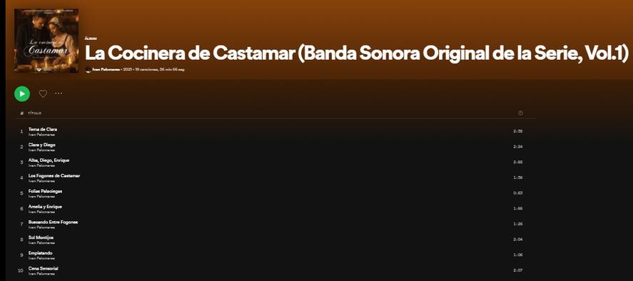 En Spotify está disponible la música de la serie de Netflix