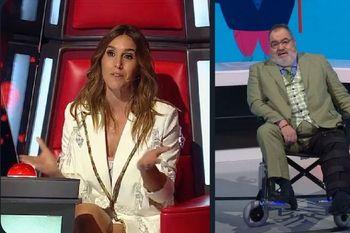 Ni el informe sobre Diego Maradona y los supuestos billetes con su rostro, ni el saco rosa furioso, ni los varados en Miami, salvaron a Lanata del nuevo revolcón que le dio en rating La Voz Argentina