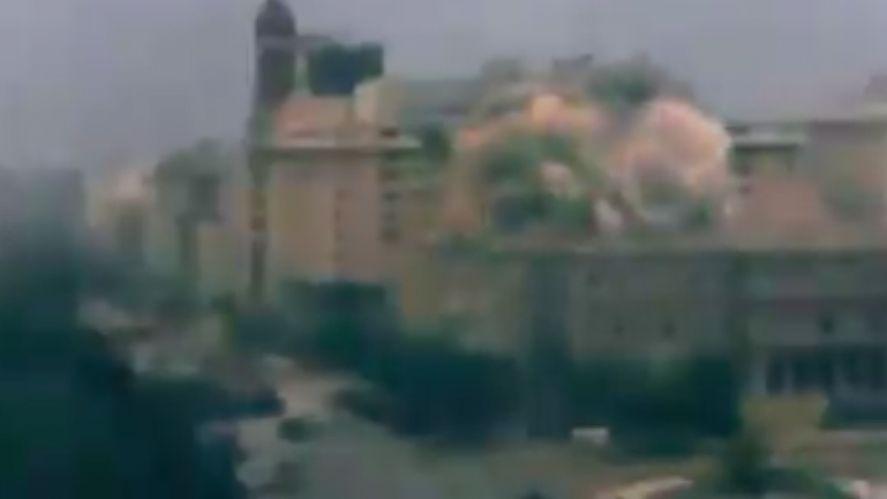 Bombearon Plaza de Mayo y la Casa Rosada